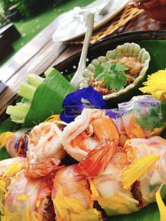 食べ物の皿の写真・画像素材[2334166]