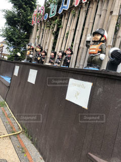 警察官の人形の写真・画像素材[2370177]