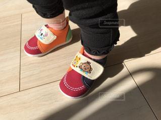 はじめての靴の写真・画像素材[2300836]