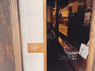 ドアのクローズアップの写真・画像素材[2299654]