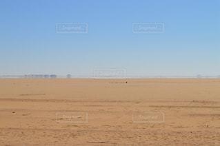 砂漠と蜃気楼の写真・画像素材[2308266]