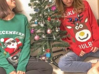 クリスマスパーティの写真・画像素材[2682269]