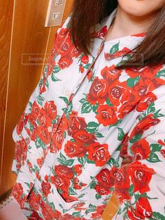 派手なパジャマの写真・画像素材[2301190]
