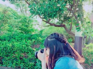 カメラ女子の写真・画像素材[136633]