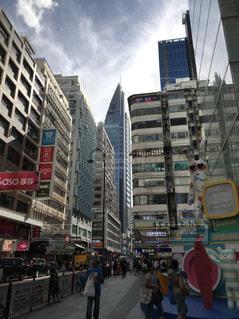香港の街並みの写真・画像素材[2302977]