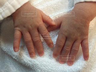 赤ちゃんの手の写真・画像素材[2306182]