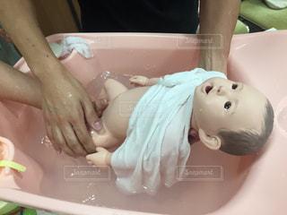 沐浴体験の写真・画像素材[2378206]