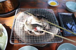 川魚の塩焼きの写真・画像素材[3706707]
