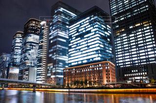 都会の高い建物の写真・画像素材[2337744]