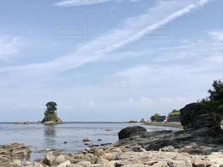晴天の日の海岸の写真・画像素材[2309443]