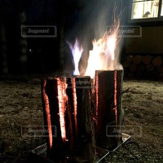 スエーデントーチの炎の写真・画像素材[3175107]