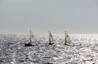 海とヨットの写真・画像素材[2320679]