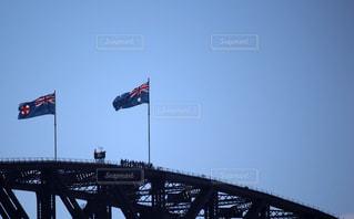 シドニーのハーバーブリッジの写真・画像素材[2320705]