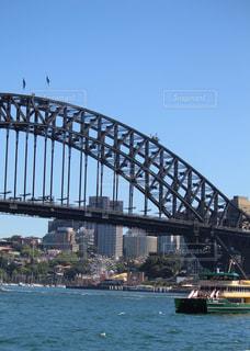 シドニーのハーバーブリッジの写真・画像素材[2320797]