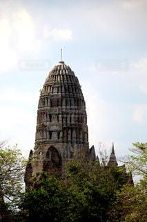 タイのアユタヤ遺跡の写真・画像素材[2320802]
