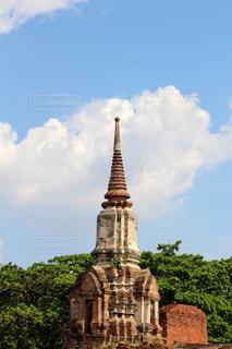 タイのアユタヤ遺跡の写真・画像素材[2320805]