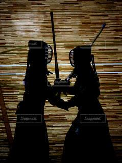 剣道の試合の写真・画像素材[2322745]