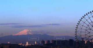 東京と富士山の写真・画像素材[2323573]