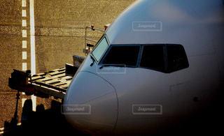 出発前の飛行機の写真・画像素材[2323581]