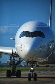 エアバスA350の写真・画像素材[2501429]