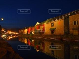 小樽運河の写真・画像素材[2632083]