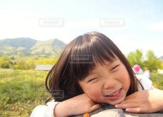笑顔の女の子の写真・画像素材[2662859]