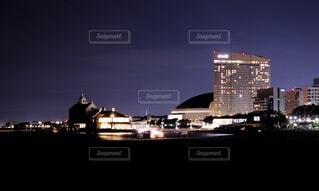福岡の夜景の写真・画像素材[4649721]