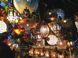 モロッコのナイトマーケットの写真・画像素材[2314473]