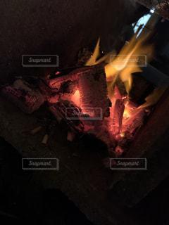 炭火でじっくりの写真・画像素材[2315207]