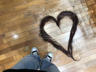 髪の毛アートの写真・画像素材[2318131]