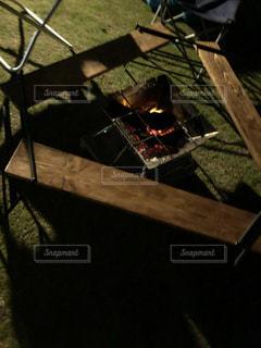 木製のテーブルの写真・画像素材[2321357]