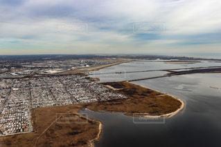 飛行機から見た景色の写真・画像素材[2329950]