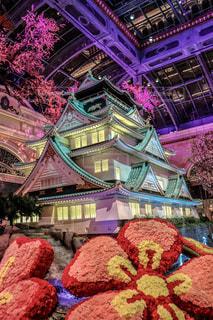 大阪城 in ラスベガスの写真・画像素材[2332165]
