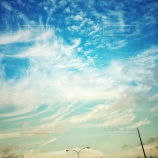 空と雲の写真・画像素材[2377429]