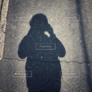 影の写真・画像素材[2390803]