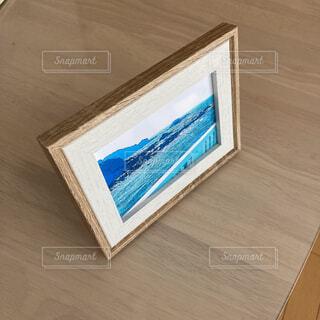 海を眺めて 風景写真アートのフォトフレームの写真・画像素材[4396030]