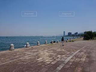 琵琶湖ウォーキングの写真・画像素材[2325320]
