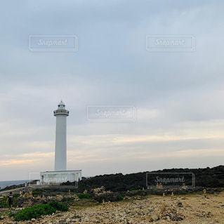 残波岬の灯台の写真・画像素材[2323517]