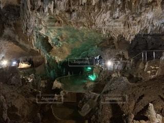 石垣島の鍾乳洞の写真・画像素材[2324049]