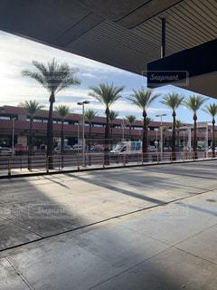 ラスベガス マッカラン国際空港の外の写真・画像素材[2501014]