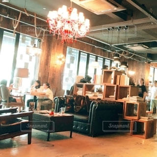 カフェの写真・画像素材[2686419]