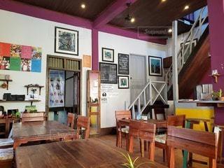 ラオスのカフェの写真・画像素材[2869878]