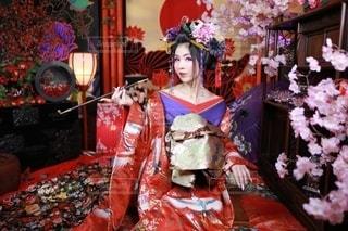 花魁を体験の写真・画像素材[2325951]