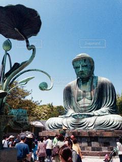 鎌倉の大仏の写真・画像素材[2327904]