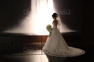 ウェディングドレスの写真・画像素材[2326697]