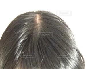 頭頂部アップの写真・画像素材[2778837]