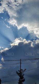 青空の雲の写真・画像素材[2329054]
