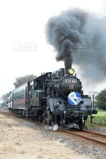 出発の機関車の写真・画像素材[2356357]
