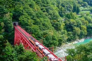 黒部峡谷トロッコ電車の写真・画像素材[2486324]
