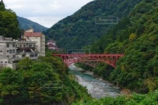 宇奈月温泉の駅周辺の写真・画像素材[2490220]